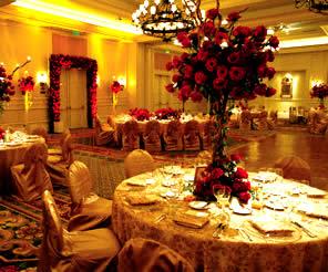 Fall Wedding Hall Decoration