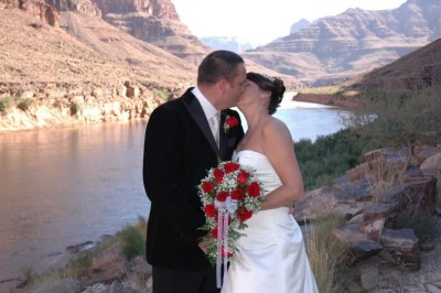 A wedding at grand canyon Las vegas