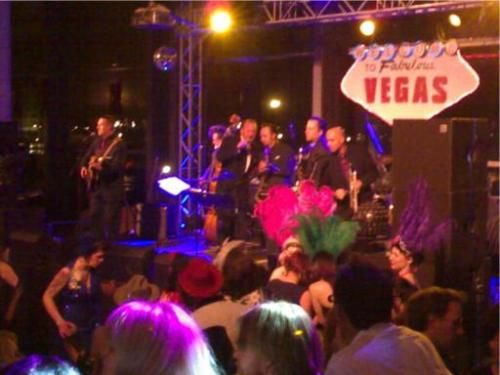 A Las Vegas Wedding Disco party
