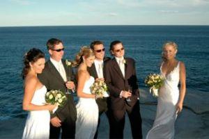 A Beach Wedding Party