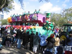 Mardi Gras Party celebration