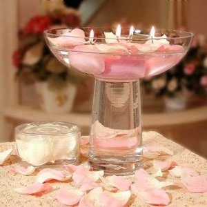 Beautiful Candlelight wedding Centerpiece