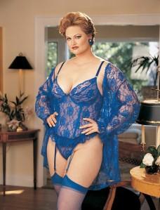 blue lace lingerie