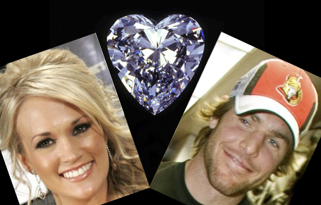 Mike Fisher And Carrie Underwood Kissing. Weekend July Carrie Underwood